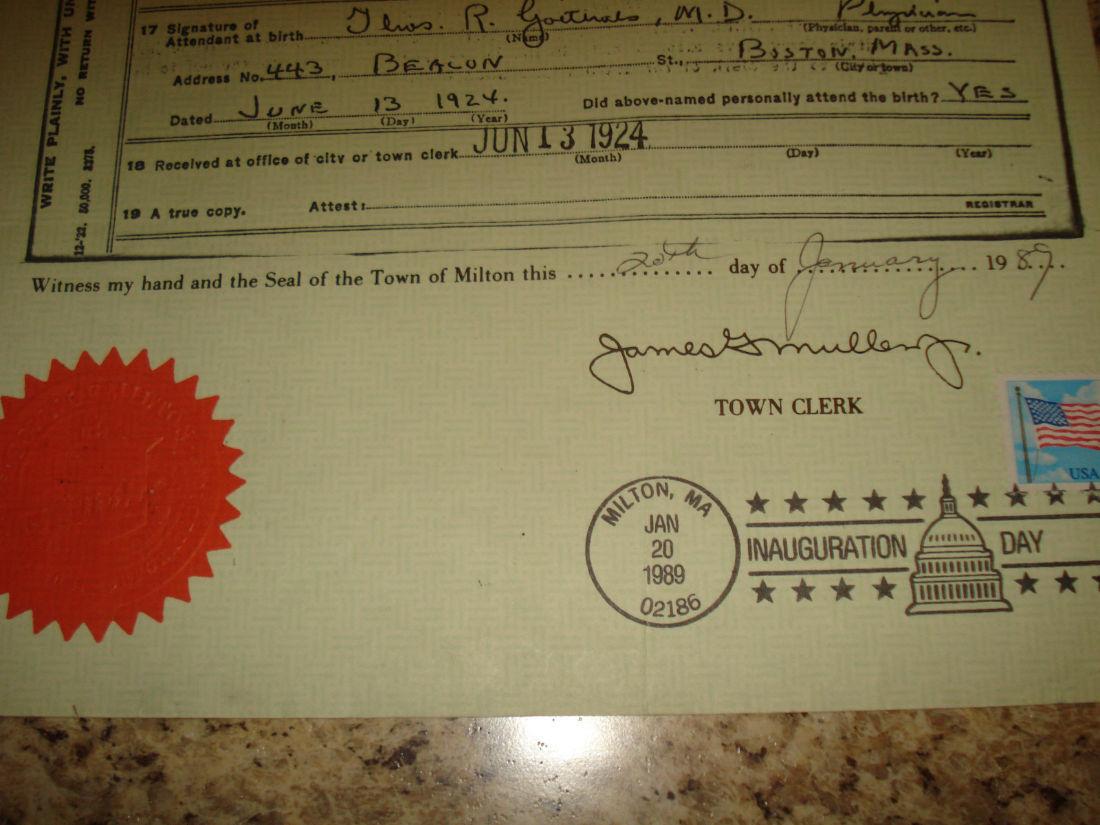 Ebay president george herbert walker bush official and certified please aiddatafo Images