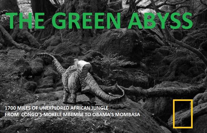 Luke finally finds cryptid dinosaur Mokele Mbembe deep in