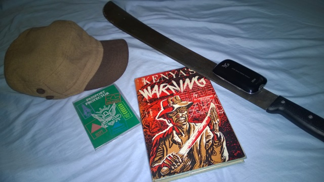 Kenyas warning book by Christopher Wilson aka doctor Dan Wilson