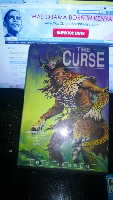 The Curse Kenya book by Eric Hansen