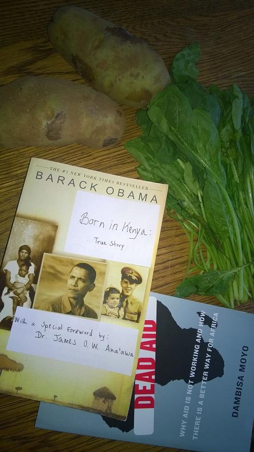 Barack Obama born in Kenya Dambisa Moyo Dead Aid Lucas Daniel Smith 2014 - Copy