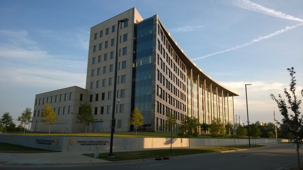 Federal Courthouse Northern District of Iowa 2014 Lucas Daniel Smith 1