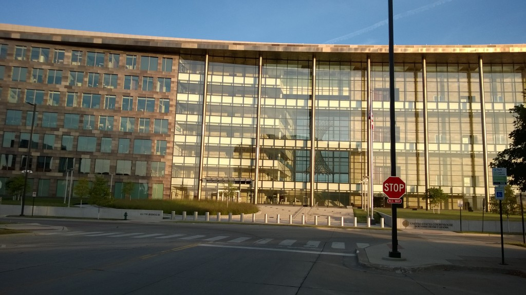 Federal Courthouse Northern District of Iowa 2014 Lucas Daniel Smith 2