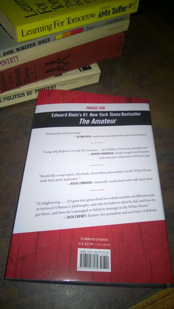 Lucas Daniel Smith Barack Obama birth certificate Kenya blood feud book Clintons vs Obamas Klein 2