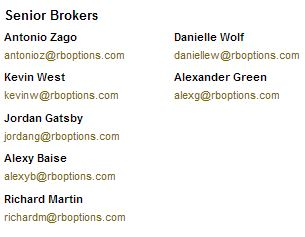 Rb options brokers