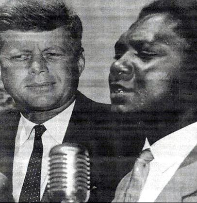 Tom Mboya John F Kennedy Senator July  1960 meeting regarding second african airlift