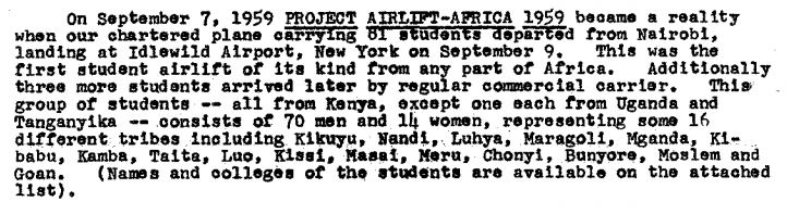 Tom Mboya Project Airflift-Africa 1959 Barack Obama Stanley Ann Dunham 2 - Copy