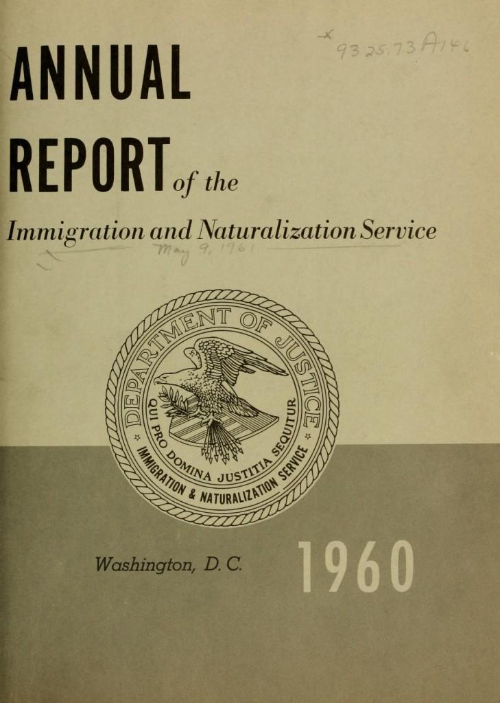 annualreportofim1960unit_0007 Immigration and Naturalization Service 1960 1959 Barack Obama senior Lucas Daniel Smith