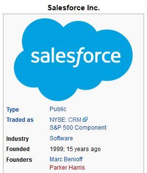 Salesforce.com Barack Obama