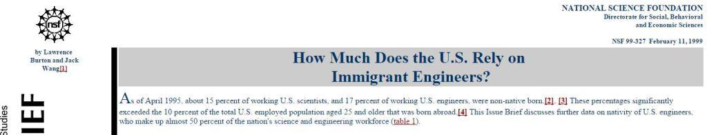 immigrant engineers Obama Lucas Daniel Smith