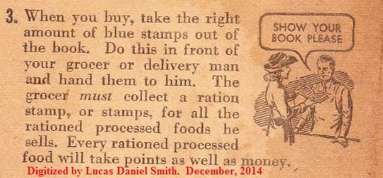 war ration book instructions world war 2 show your book please grocery stamps
