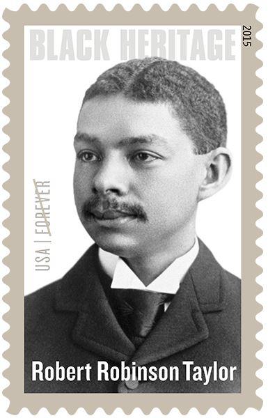 Robert Robinson Taylor stamp